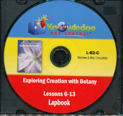 Exploring Creation with Botany Lessons 6-13 Lapbook CD-Rom  -