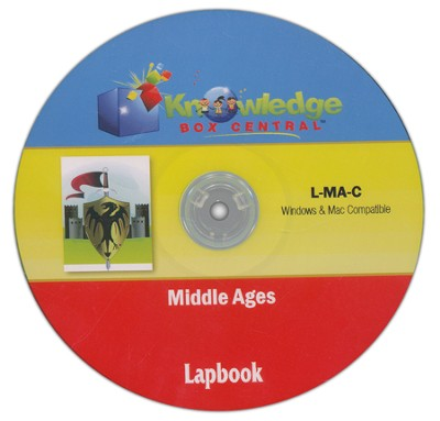 Middle Ages Lapbook CDROM  -     By: Cyndi Kinney