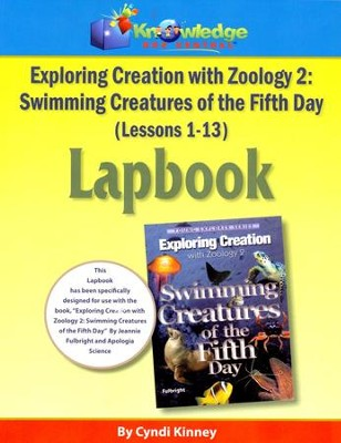 Apologia Exploring Creation with Zoology 2: Swimming  Creatures of the 5th Day Lapbook Package (Lessons 1-13)  -