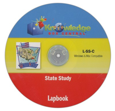 Any State Study Lapbook CDROM  -     By: Cyndi Kinney, Shelby Kinney