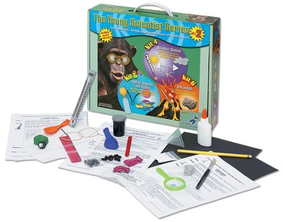 The Young Scientist Series Set 2: Weather Station, Solids, Liquids and Gases, and Volcanoes  -