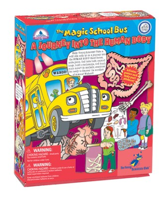 The Magic School Bus: A Journey into the Human Body Kit  -
