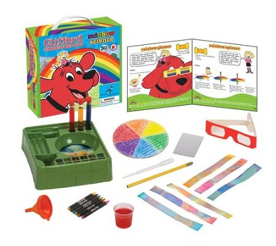 Clifford The Big Red Dog: Rainbow Science Kit   -