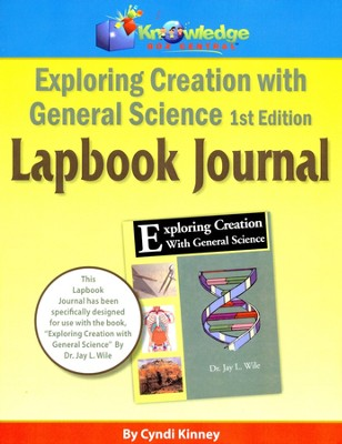 Apologia Exploring Creation with General Science  1st Edition Lapbook Journal  -