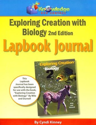 Apologia Exploring Creation With Biology 2nd Edition Lapbook Journal  -