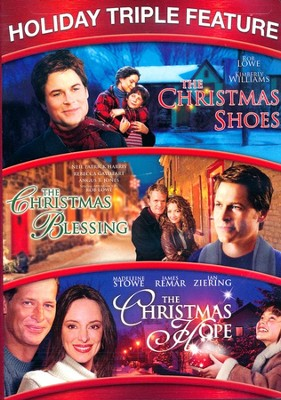 Holiday Triple Feature: Christmas Hope/ Christmas Blessing/Christmas Shoes  -