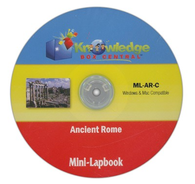 Ancient Rome Mini-Lapbook CDROM  -     By: Cyndi Kinney