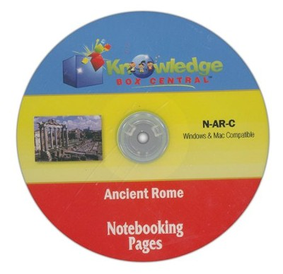 Ancient Rome Notebooking Pages CD-ROM  -     By: Cyndi Kinney