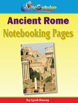 Ancient Rome Notebooking Pages  -     By: Cyndi Kinney