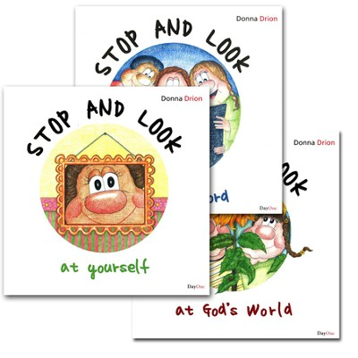 Stop and Look: Set 3 books (God's World, Yourself, God's Word)  -     By: Donna Drion