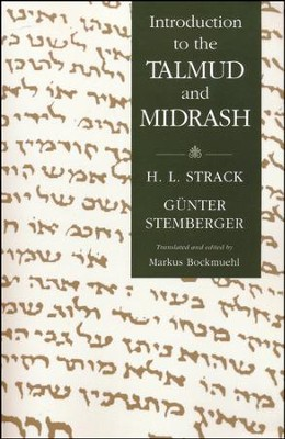 Introduction to the Talmud and Midrash   -     By: Hermann Strack, Gunter Stemberger