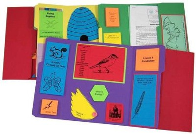 Exploring Creation with Zoology 1: Flying Creatures of the 5th Day Lessons 1-14 Lapbook Package (Assembled)  -     By: Cyndi Kinney