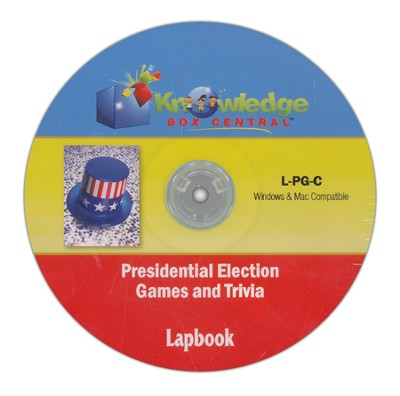 Presidential Election Games & Trivia Lapbook CDROM  -     By: Cyndi Kinney