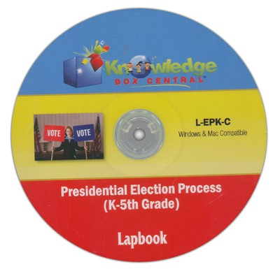 Presidential Election Process Lapbook (K-5th) CDROM  -     By: Cyndi Kinney, Judy Trout