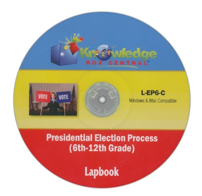 Presidential Election Process Lapbook (6-12th) CDROM  -     By: Cyndi Kinney, Judy Trout