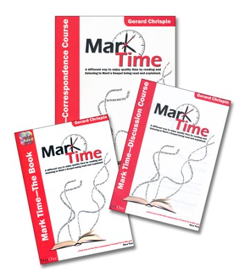 Mark Time Complete Package, Includes Main Book, Two booklets, 4 audio CDs  -     By: Gerard Chrispin