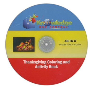 Thanksgiving Fun Activity Book CDROM  -     By: Cyndi Kinney