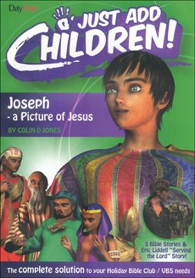 Joseph: A Picture of Jesus  -     By: Colin D. Jones