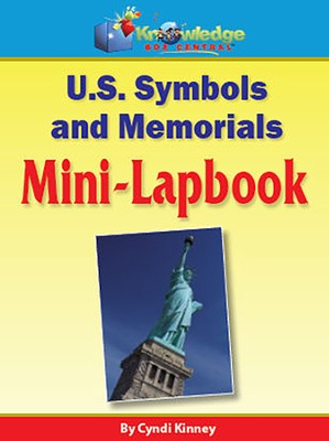 U.S. Symbols Mini-Lapbook  -     By: Cyndi Kinney