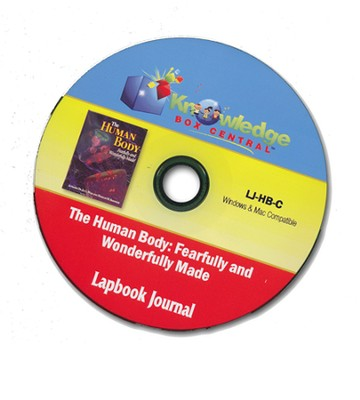 Apologia Human Body: Fearfully & Wonderfully Made 1st Edition Lapbook Journal PDF CDROM  -     By: Cyndi Kinney