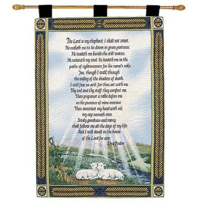 23rd Psalm, Wallhanging   -