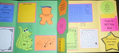 Trip to Toyland! Lapbook (Assembled)  -     By: Cyndi Kinney