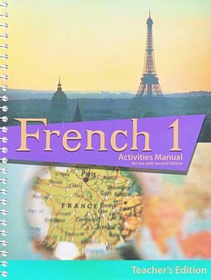 BJU French 1 Student Activities Manual, Teacher's Edition (Second Edition)  -