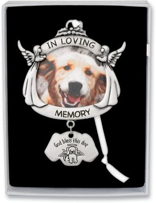 Dog Memorial Ornament  -