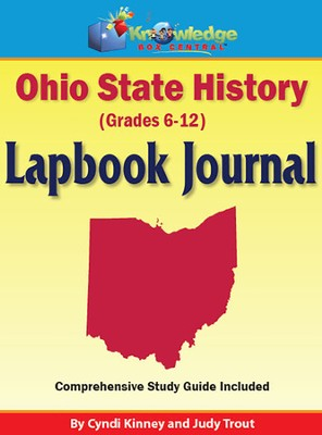 Ohio State History Lapbook Journal (Printed)  -     By: Cyndi Kinney