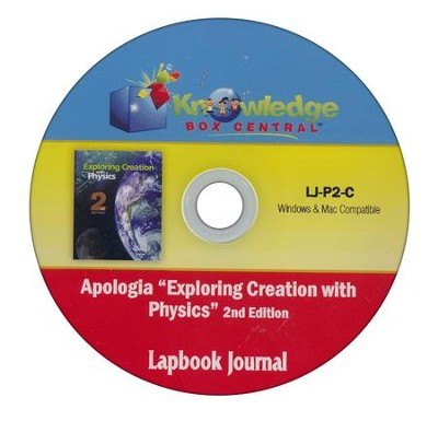 Apologia Exploring Creation With Physics 2nd Edition Lapbook Journal PDF CDROM  -     By: Cyndi Kinney