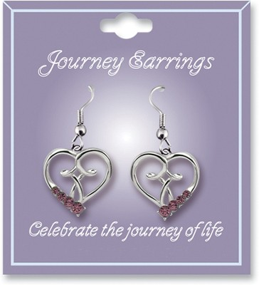 Journey Birthstone Earrings, October  -