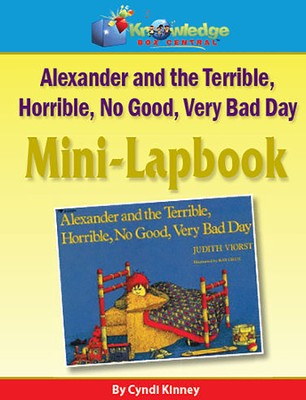 Alexander & the Terrible, Horrible, No Good, Very Bad Day Mini-Lapbook (Printed)  -     By: Cyndi Kinney