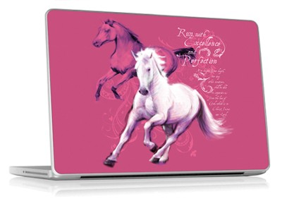 Run With Excellence Laptop Skin  -