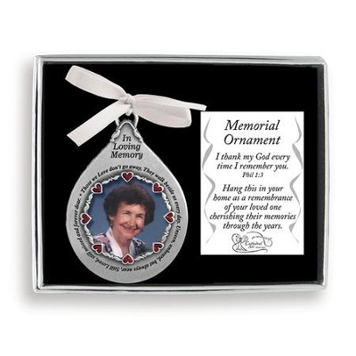 In Loving Memory Ornament  -