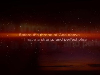Before The Throne of God (Alternate Version) - Lyric Video SD  [Music Download] -     By: Promise Keepers