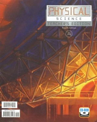 BJU Physical Science Teacher's Edition Grade 9   -