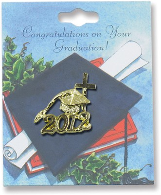 Class of 2012 Lapel Pin, Gold  -