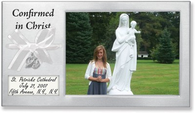 Confirmed in Christ Photo Frame to Personalize  -