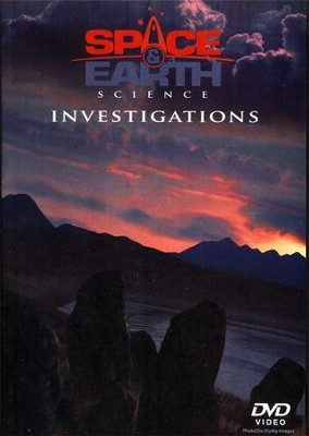 BJU Space & Earth Science Investigations Lab DVD    -