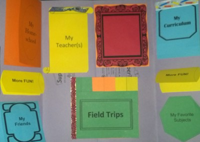 About My Homeschool Mini-Lapbook (Assembled Edition)  -     By: Cyndi Kinney