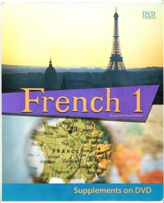 BJU French 1 DVD Supplement, Second Edition   -