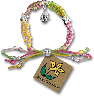 Have Patience, Express Yourself Cord Bracelet  -