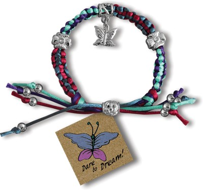 Dare to Dream, Express Yourself Cord Bracelet  -