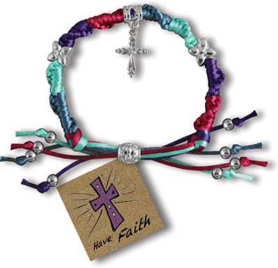 Have Faith, Express Yourself Cord Bracelet  -