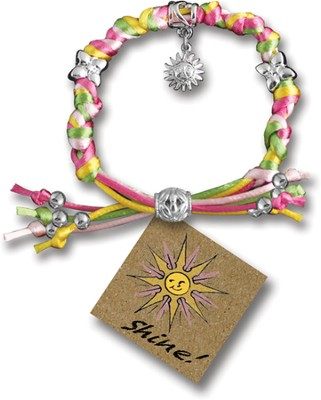 Shine, Express Yourself Cord Bracelet  -