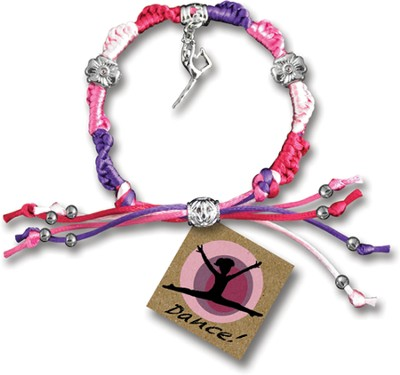 Dance, Express Yourself Cord Bracelet  -