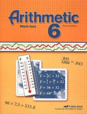 Arithmetic 6 Work-text, Fourth Edition   -