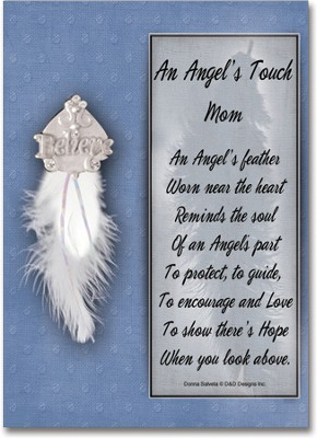 An Angel's Touch Pin, Mom  -