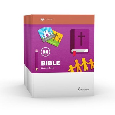 Lifepac Bible, Grade 2, Workbook Set   -     By: Alpha Omega