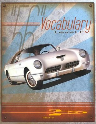 BJU Vocabulary Level F (Grade 12) Student Worktext, Third Edition     -
